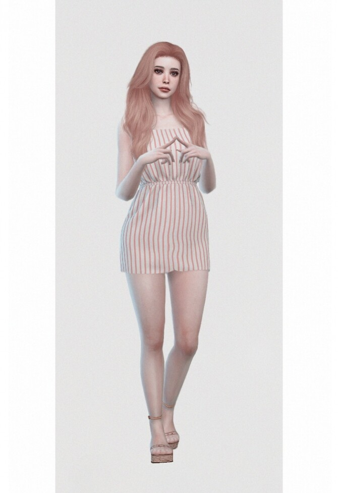 Sims 4 Shelley Stewart by Jessee at L'UniverSims