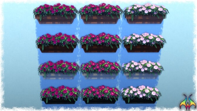 Mumumental Mums Window box by Wykkyd at Mod The Sims image 1531 670x377 Sims 4 Updates