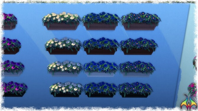 Mumumental Mums Window box by Wykkyd at Mod The Sims image 1541 670x377 Sims 4 Updates