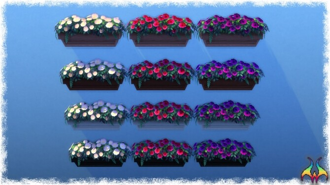 Mumumental Mums Window box by Wykkyd at Mod The Sims image 1551 670x377 Sims 4 Updates