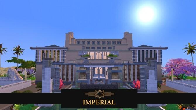 Imperial mansion by PinkCherub