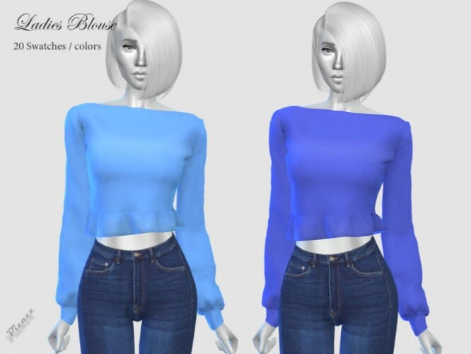 Ladies Blouse by pizazz