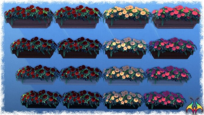 Mumumental Mums Window box by Wykkyd at Mod The Sims image 1561 670x377 Sims 4 Updates
