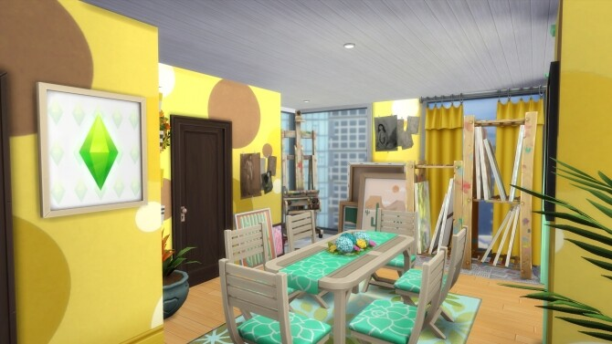 Sims 4 1312 21 Chic Street Eclectic Artist by MarVlachou at Mod The Sims