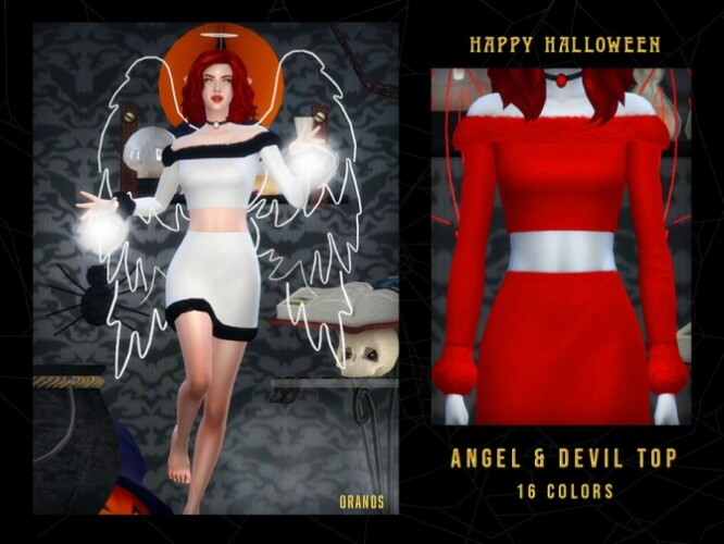 Angel Devil Top by OranosTR