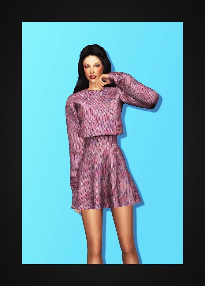 Sims 4 Sweater Dress at Gorilla