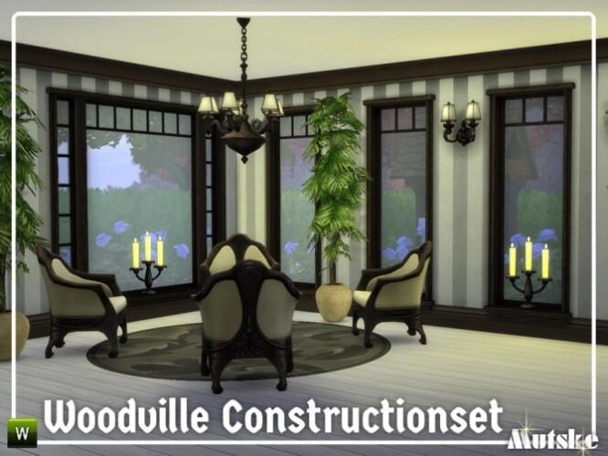 Woodville Constructionset Part 1 by mutske