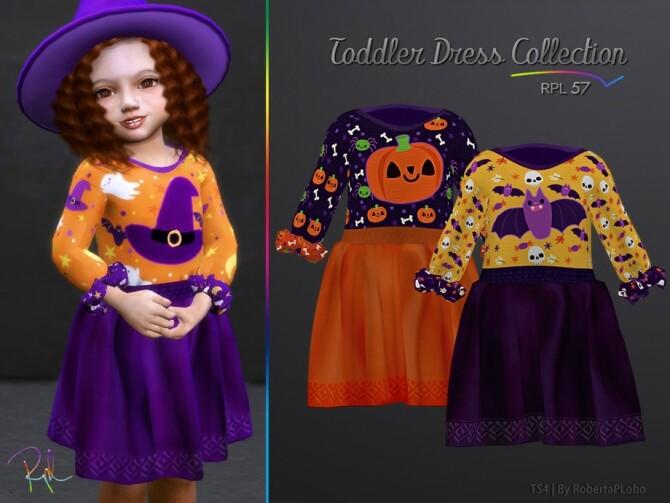Sims 4 TODDLER Collection RPL57 Halloween by RobertaPLobo at TSR