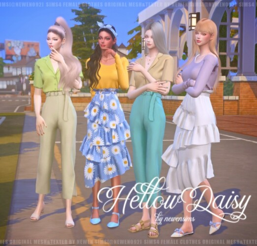 Hello Daisy Clothes Set