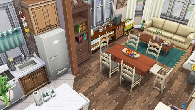TINY APARTMENT FOR 8 SIMS