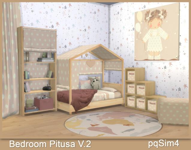Pitusa Toddler Bedroom V2