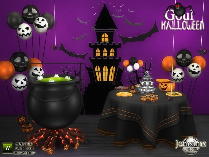 Sims 4 Goul Halloween 2020 by jomsims at TSR