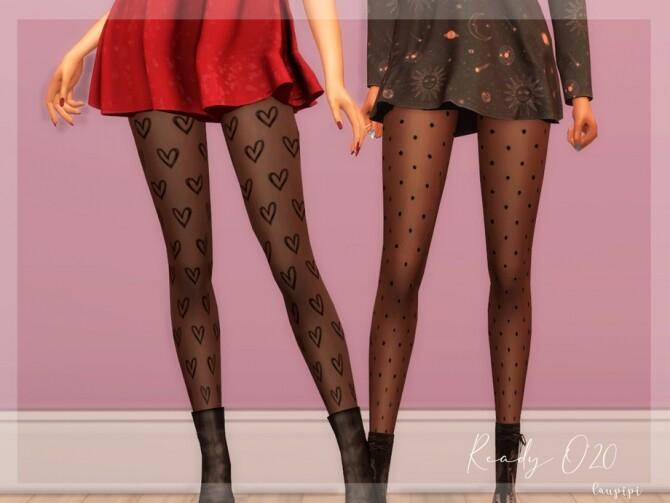Sims 4 Cute Tights AC361 by laupipi at TSR