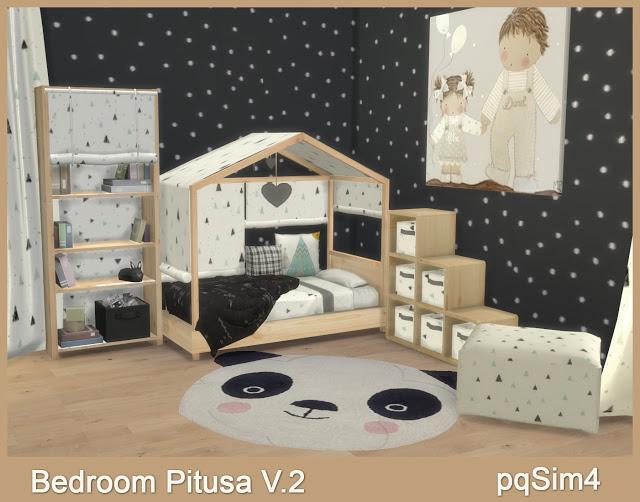 Sims 4 Pitusa Toddler Bedroom V.2 at pqSims4
