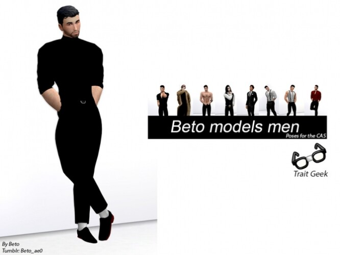Models Men Poses for CAS by Beto_ae0