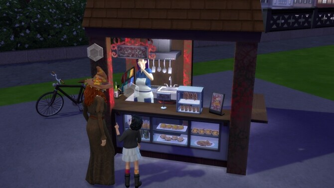 Sims 4 Halloween Stand by ArLi1211 at Mod The Sims