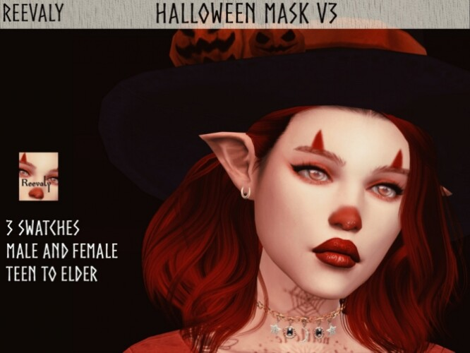 Halloween Mask V3 by Reevaly