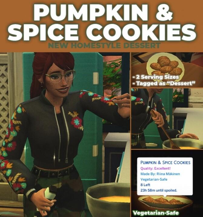 Pumpkin Spice Cookies by RobinKLocksley