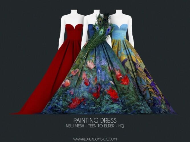 PAINTING DRESS
