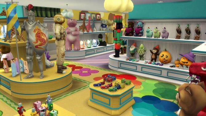 Happy Toy Store Set by simsi45 at Mod The Sims image 1776 670x377 Sims 4 Updates