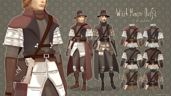 Witch Hunter Outfit by kennetha_v