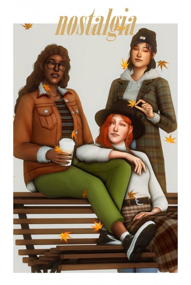 Sims 4 Nostalgia CC Pack at Clumsyalienn