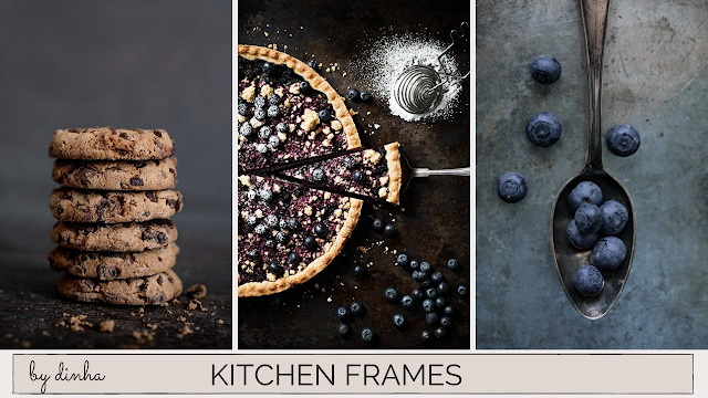 Sims 4 Kitchen Frames 10 Swatches at Dinha Gamer