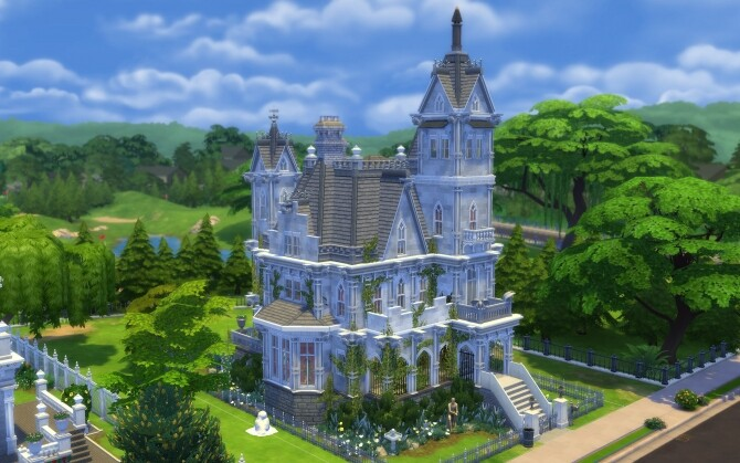 The Gothic Manor by alexiasi