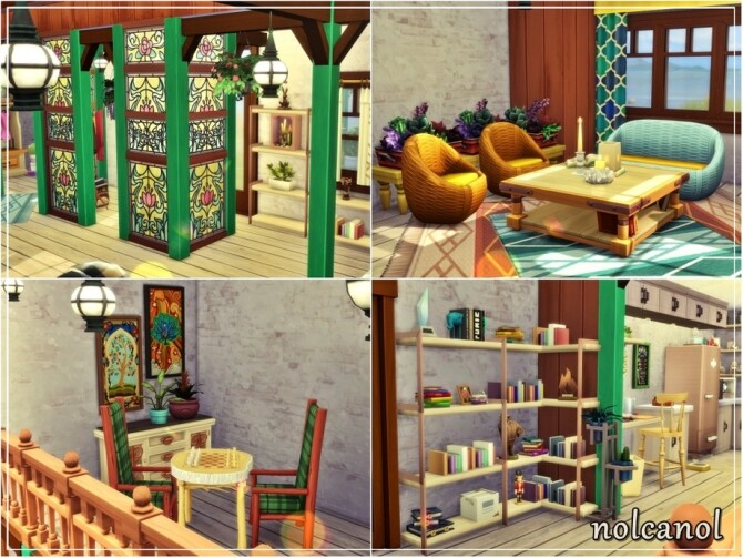 Sims 4 Oceanside View Home by nolcanol at TSR