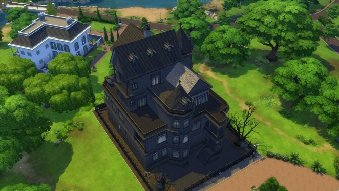 Four story revamp Ophelia mansion by xordevoreaux at Mod The Sims image 1868 670x377 Sims 4 Updates