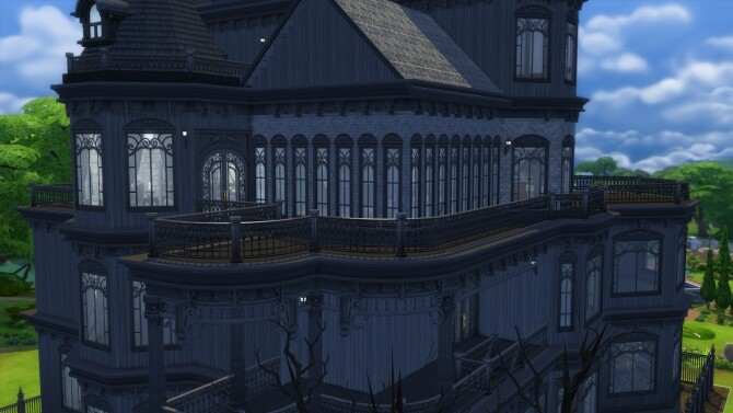 Four story revamp Ophelia mansion by xordevoreaux at Mod The Sims image 1877 670x377 Sims 4 Updates