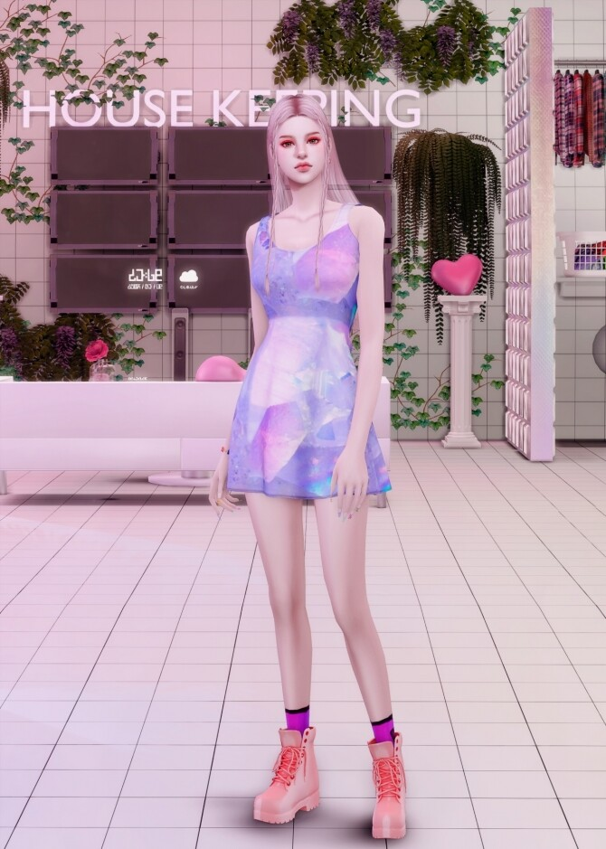 Vapor Wave Collaboration [R+N+D] at RIMINGs image 1884 670x939 Sims 4 Updates
