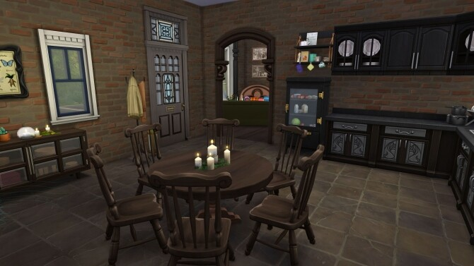 Sims 4 Small Witch House at Frenchie Sim