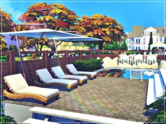 Sims 4 Fall Family Home by Summerr Plays at TSR