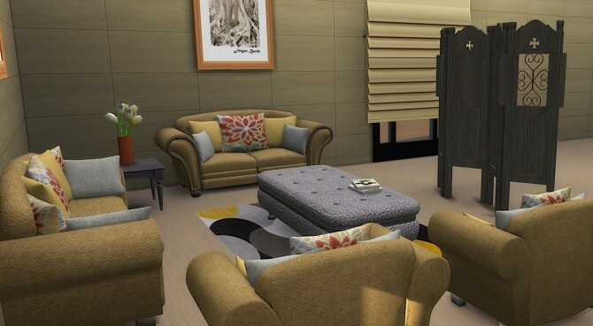 Carmen Livingroom Set at LIZZY SIMS image 1942 670x369 Sims 4 Updates