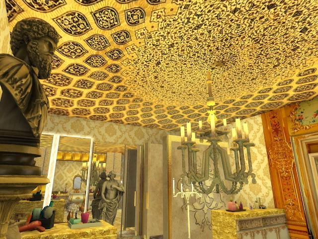 Amazing Golden Ornamented Ceilings Set VI at Anna Quinn Stories image 1944 Sims 4 Updates