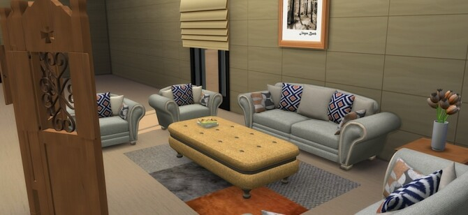 Carmen Livingroom Set at LIZZY SIMS image 1952 670x308 Sims 4 Updates