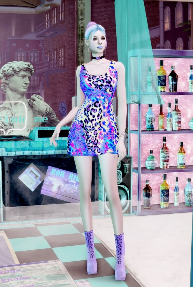 Vapor Wave Collaboration [R+N+D] at RIMINGs image 1953 670x994 Sims 4 Updates
