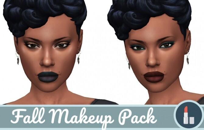 Sims 4 Fall Makeup Pack at Frenchie Sim