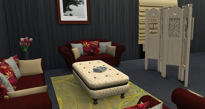 Carmen Livingroom Set at LIZZY SIMS image 1962 670x358 Sims 4 Updates