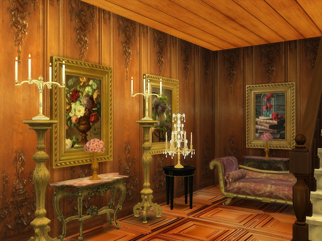 Amazing Golden Ornamented Ceilings Set V at Anna Quinn Stories image 1975 Sims 4 Updates