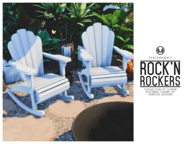 Collection of 12 Rocking Chairs