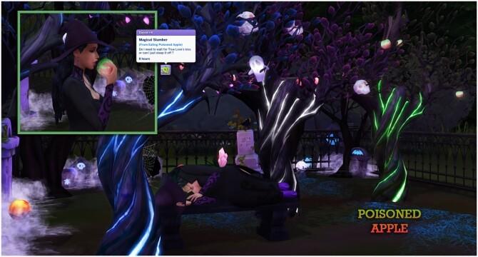 Sims 4 GLOWY TREES at Icemunmun