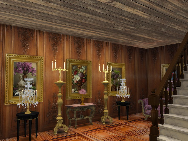 Amazing Golden Ornamented Ceilings Set V at Anna Quinn Stories image 20210 Sims 4 Updates