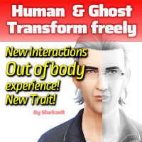 The free transformation between human ghost by ShuSanR