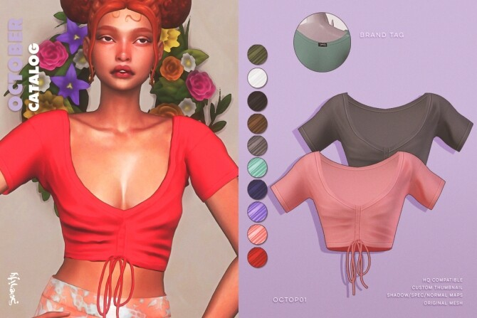 Sims 4 October Catalog at SERENITY