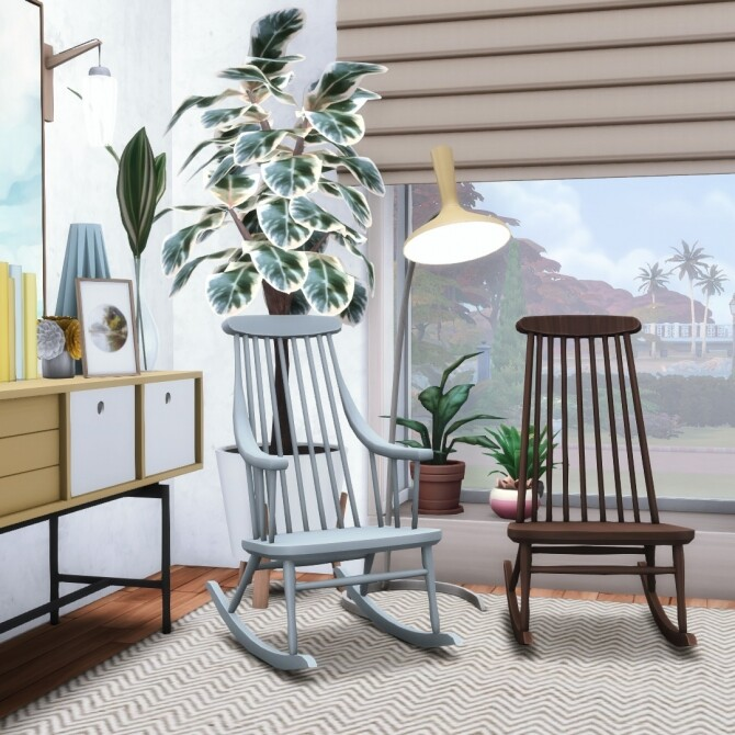 Rock'n Rockers Collection of 12 Rocking Chairs at Simsational Designs image 2026 670x670 Sims 4 Updates