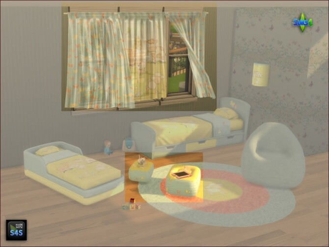 Curtains and pouf tables for kids at Arte Della Vita image 2031 670x503 Sims 4 Updates