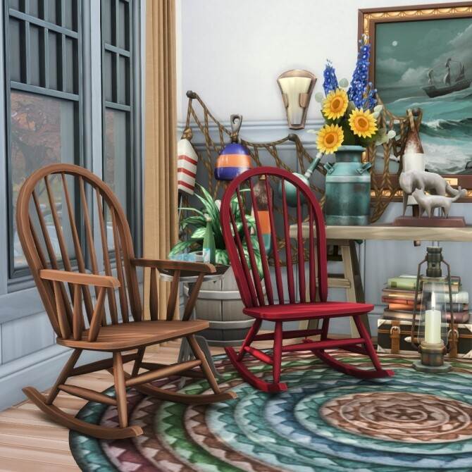 Rock'n Rockers Collection of 12 Rocking Chairs at Simsational Designs image 2035 670x670 Sims 4 Updates