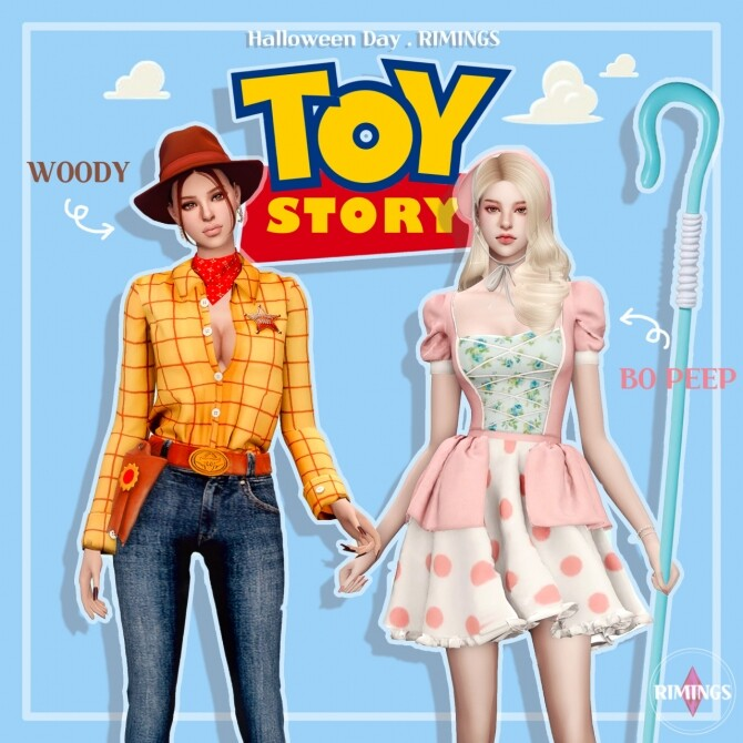 Sims 4 TOY STORY COSTUME at RIMINGs